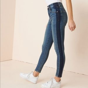 Garage premium ultra high rise jeans size 9